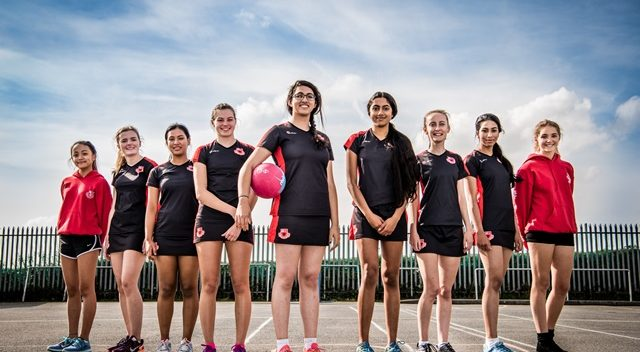 Netball at St.Mikes