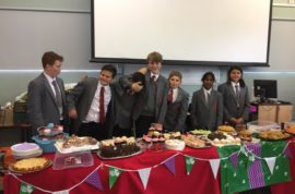 Charity Fund Raising – what a spread!
