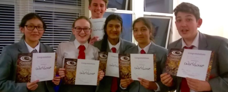 Geographical Association Quiz Team Win!