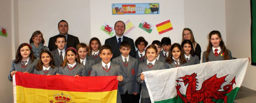Combining Cultures – Spanish and Welsh!