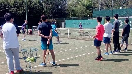 Tennis with Welsh Coach Elinore Lightbody