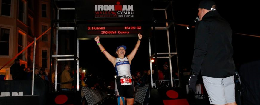 Gaynor becomes an Ironman!