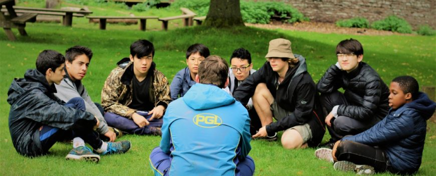 Parc House Boarders visit PGL Residential Adventure Centre