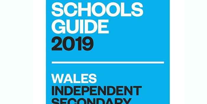 'The Times' Welsh Independent Secondary School of the Year 2019